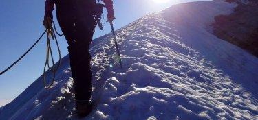 E5 Spezial - Aufstieg auf dem Grat zum Similaun (3.606 m)