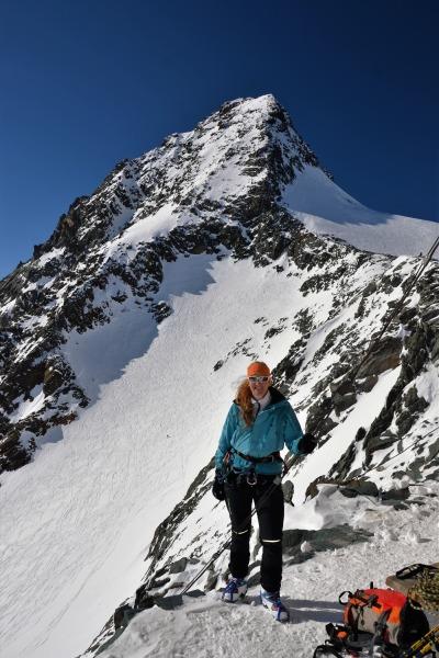 Auf der Skiroute-Hochtirol