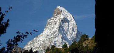 8. Tag - Blick zurück zum Matterhorn mit Hörnligrat