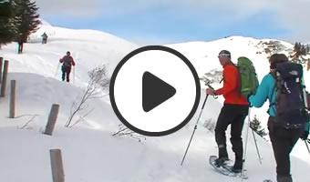 Schneeschuhvideo