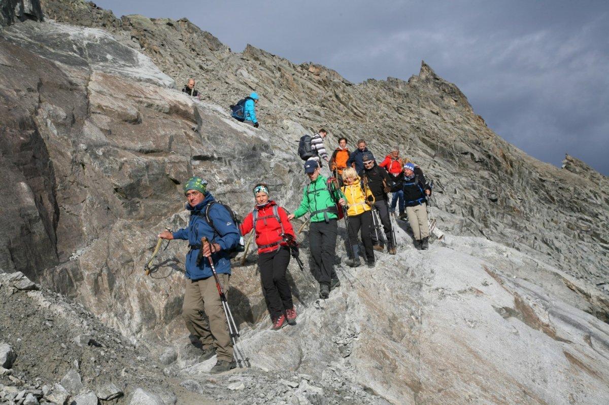 4. Tag - Abstieg vom Pitztaler Jöchl