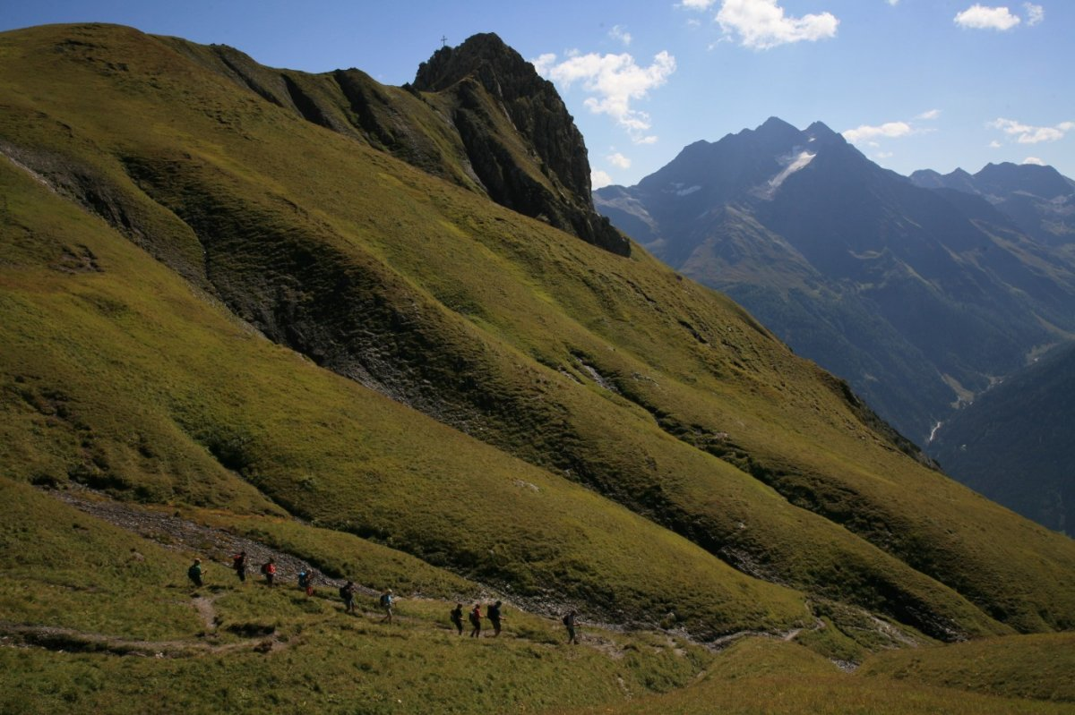 3. Tag - Auf dem Abstieg nach Pettneu am Arlberg (1.222 m)