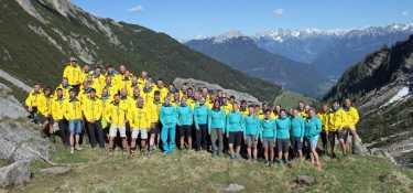 OASE Training 2017 auf der Muttekopfhütte