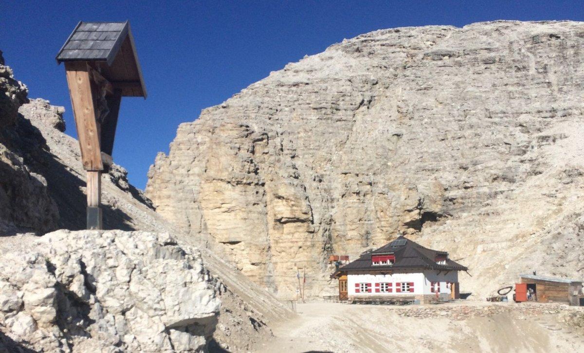 Dolomiten Höhenweg 2 Rif Forcella