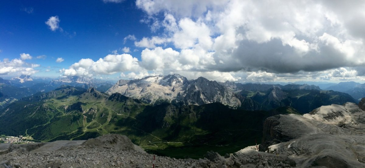 Dolomiten Höhenweg 2 Piz Boe 5