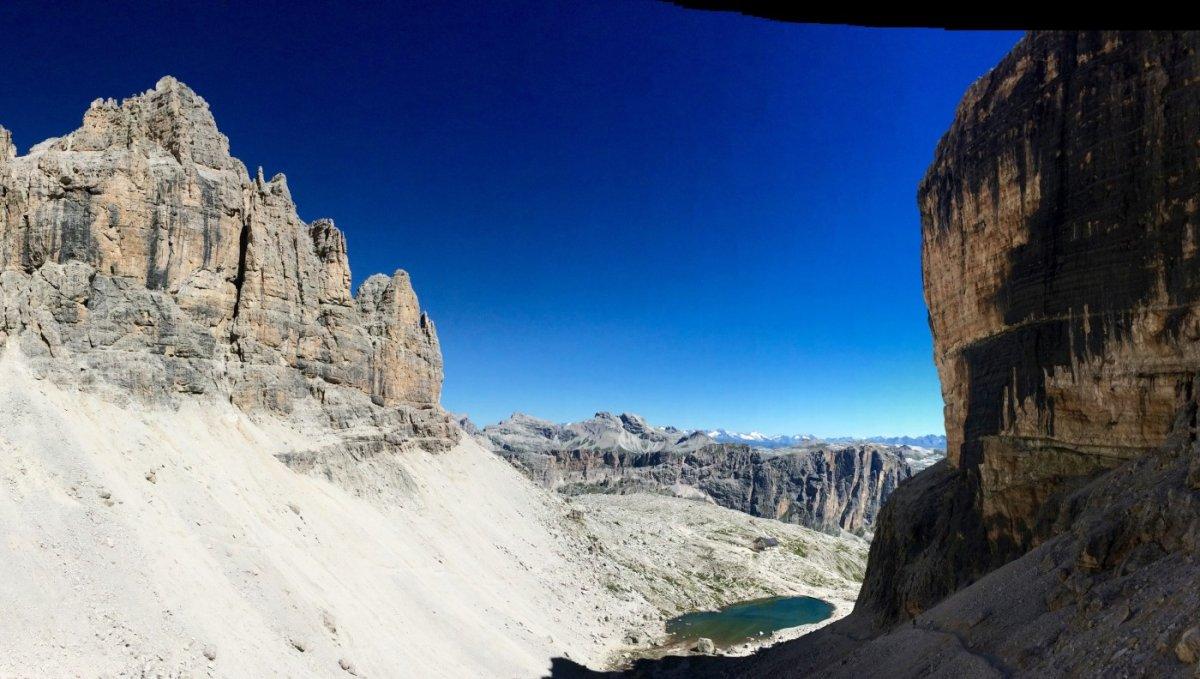 Dolomiten Höhenweg 2 Pisciadu 1