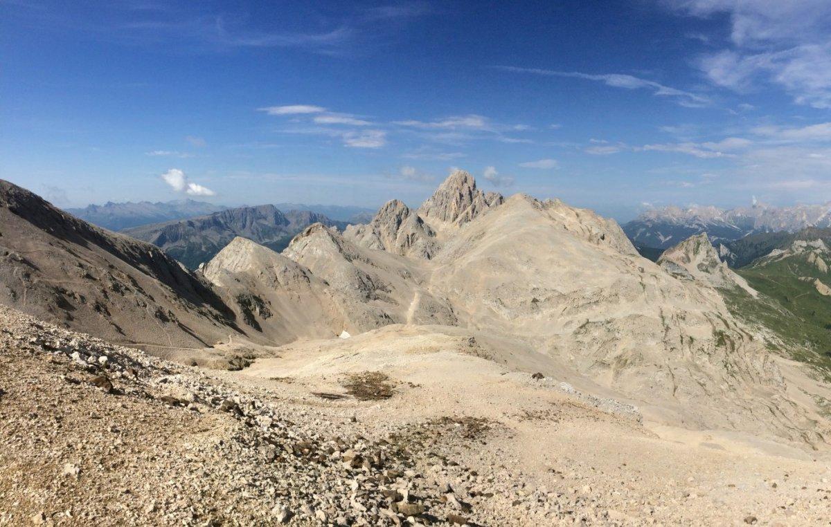 Dolomiten Höhenweg 2 Passo Ombrettola 2