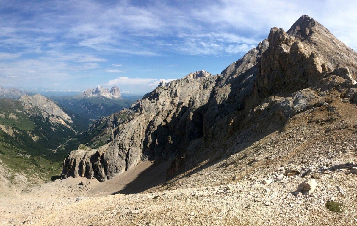 Dolomiten Höhenweg 2 Passo Ombrettola 1