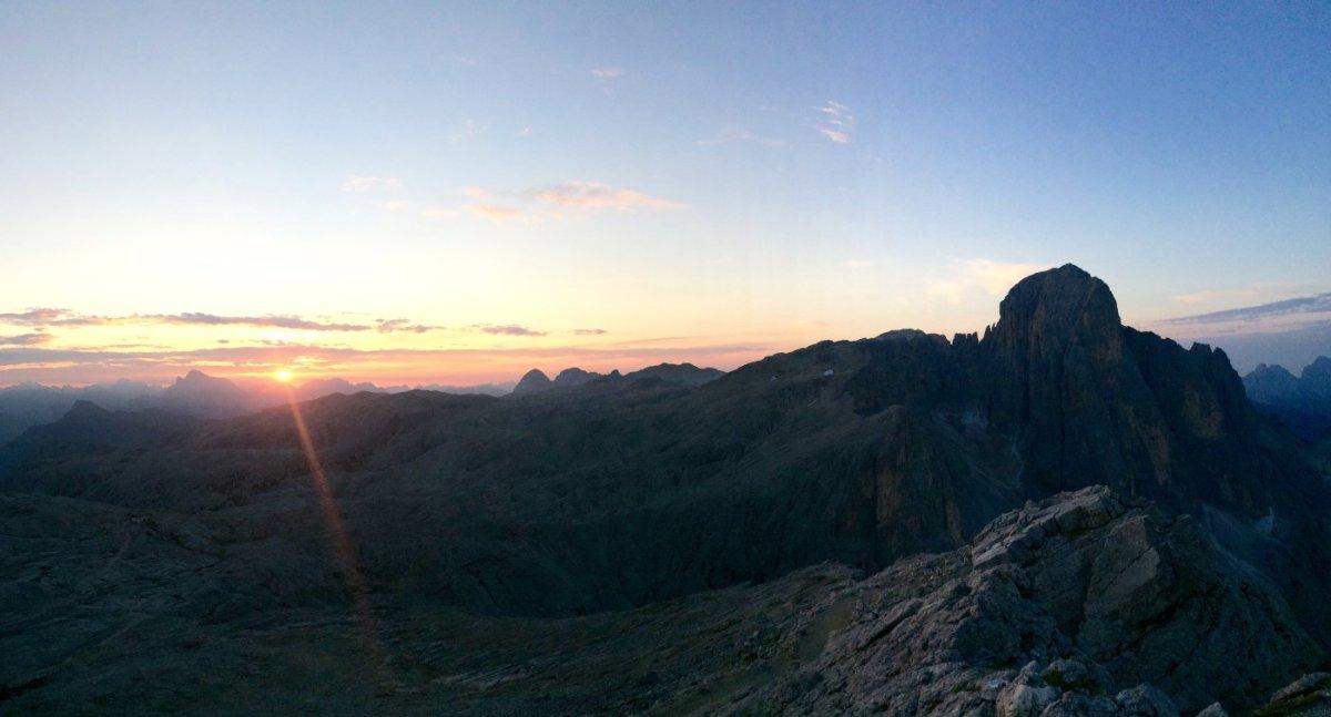 Dolomiten Höhenweg 2 Piz Boe 1