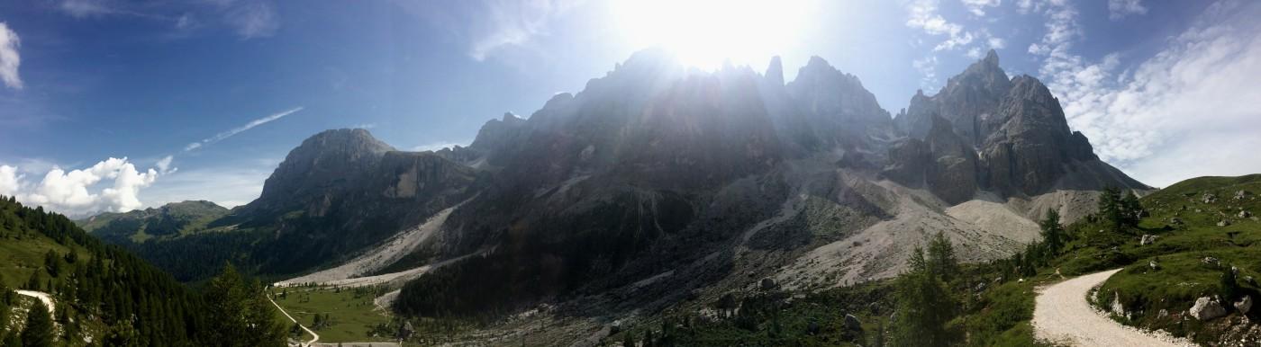Dolomiten Höhenweg 2 Grödner Joch 1