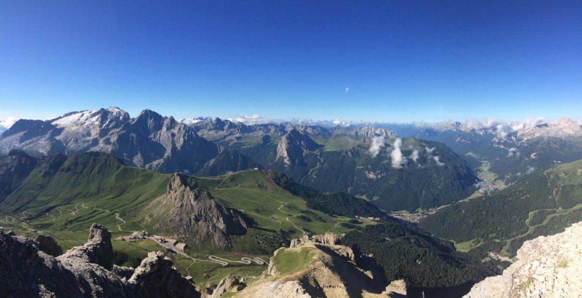 Dolomiten Höhenweg 2 Marmolada 2