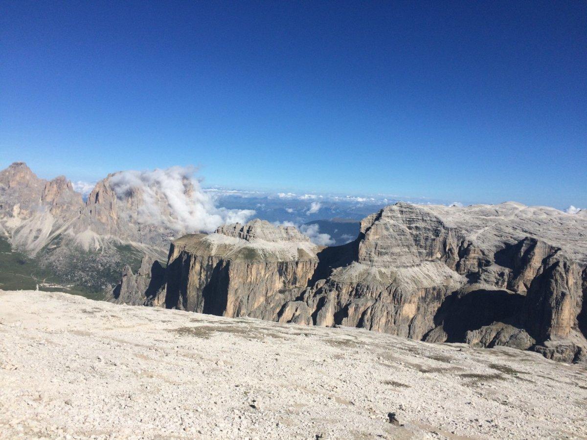 Dolomiten Höhenweg 2 Pisciadu 3