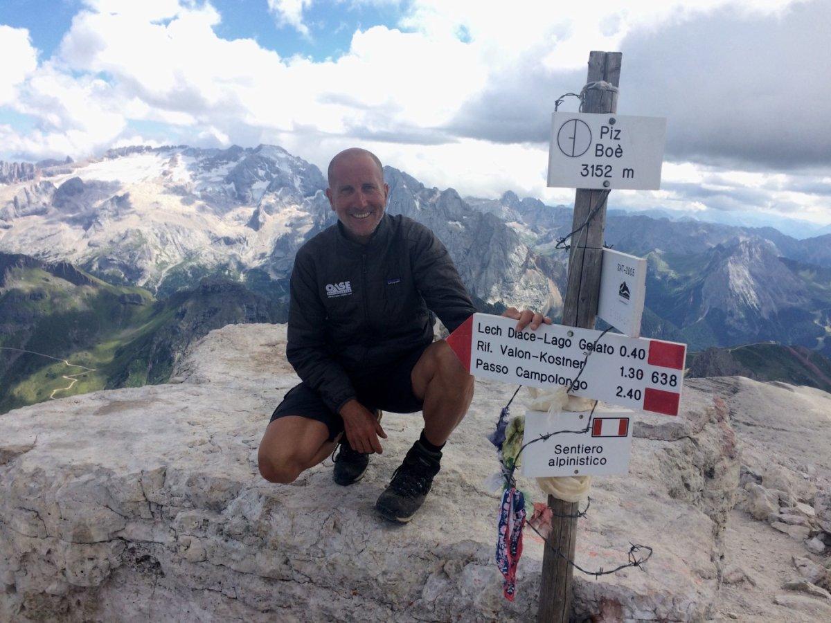 Dolomiten Höhenweg 2 Piz Boe 4
