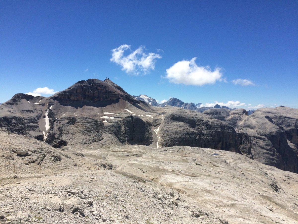 Dolomiten Höhenweg 2 - Unser Ziel, der Piz Boe