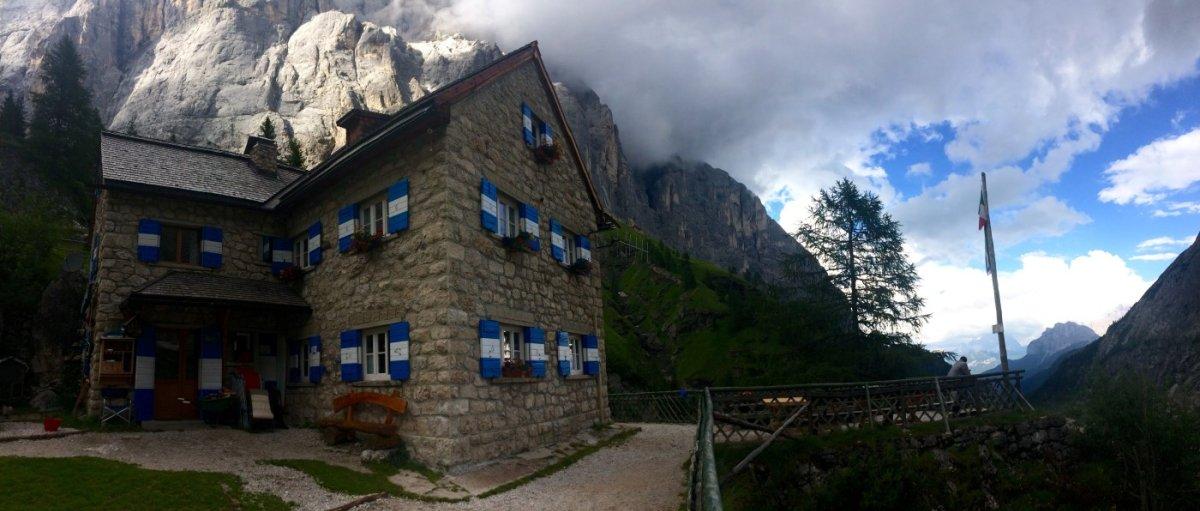 Dolomiten Höhenweg 2 Rif Falier 1