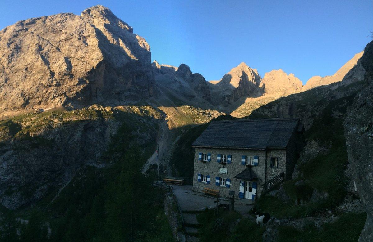 Dolomiten Höhenweg 2 Rif Falier 2
