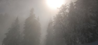 Schneeschuhwandern im Allgäu Ostertal