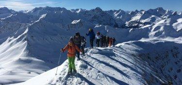 Schneeschuhtour im Schwarzwassertal