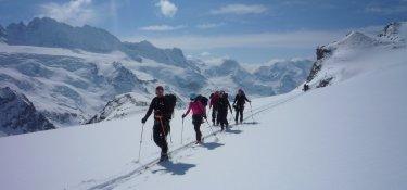 Aufstieg zum Col de Valpelline