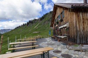 Terrasse Lüchle Alpe