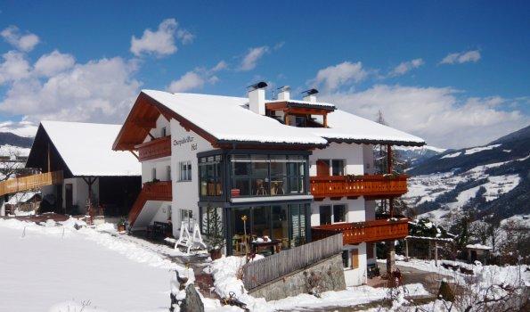 Biohof im Winter