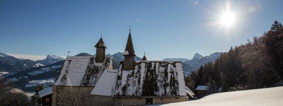 Dreikirchen im Winter