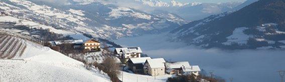 Eisacktal im Winter