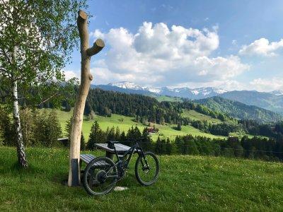 Biken auf dem Hompessenweg