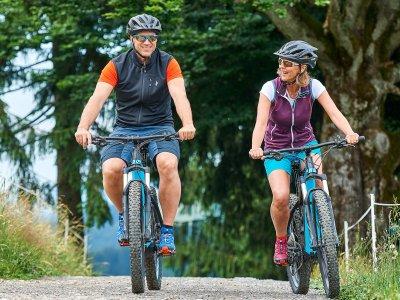 Bikespaß in Oberstaufen