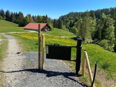 Flowgates sind moderne Weideübergänge für Wanderer und Biker