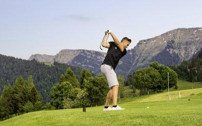 Golfen in den Bergen