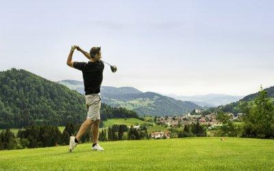 Golfen in Oberstaufen