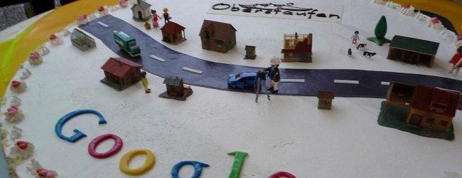 Google Street View Torte