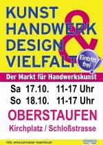 Kunsthandwerkermarkt Oktober 2020