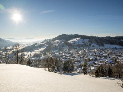 Oberstaufen-Winter-Sonne