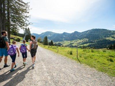 Wanderparadies Oberstaufen im Naturpark Nagelfluhkette