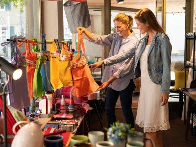 Einkaufen in Oberstaufen im Allgäu