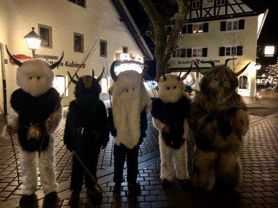 Klausentreiben in Oberstaufen ist eine Tradition rund um den Nikolaustag