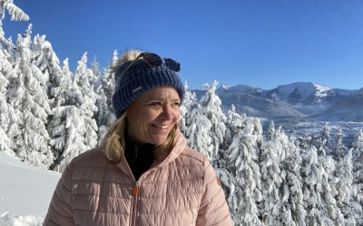 Oberstaufens Tourismuschefin Constanze Höfinghoff