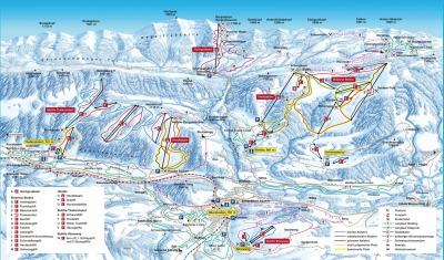 Pist plan for Oberstaufen