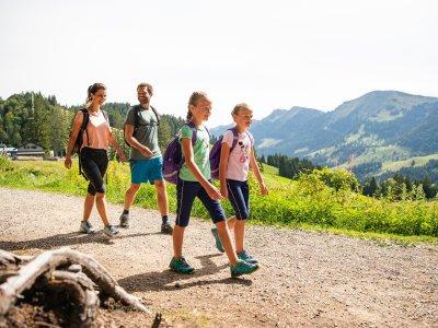 Familienwandern im Allgäu