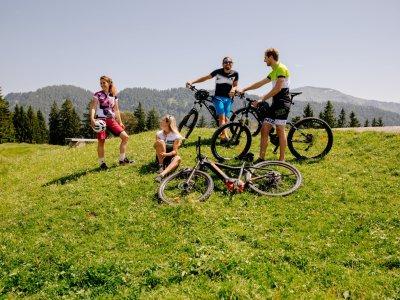 Radfahren und Biken rund um Oberstaufen im Allgäu