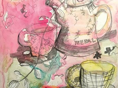 Künstlerin Claudia Hetzel-Zink
