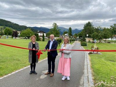 Vernissage Kunstspaziergang Oberstaufen PARK 01.07.2021