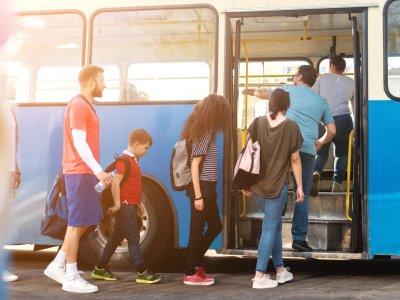 Mit Bus und Bahn unterwegs im Allgäu
