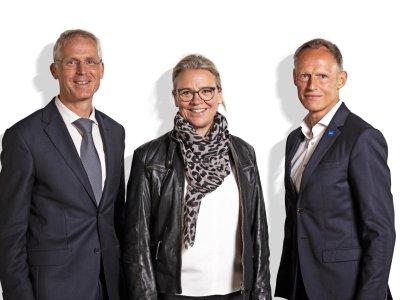 Max Hillmeier, Constanze Höfinghoff und Stefan Fredlmeier