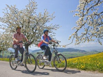 Radspaß durch das blühende Westallgäu
