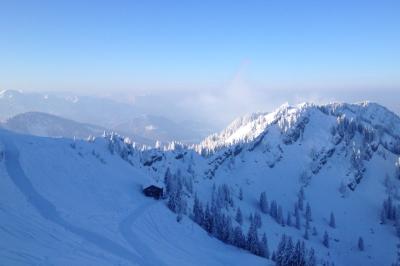 Winterfreuden am Hochgrat