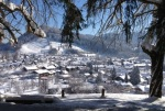 Winterpanorama Oberstaufen