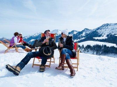 Winterwandern auf dem Imberg